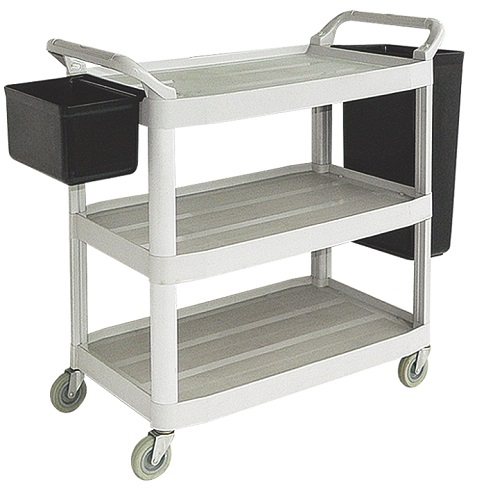 3 tiers plascti trolley